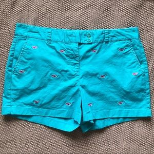 Pink + Blue Vineyard Vines Whale Shorts